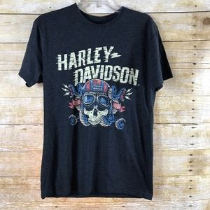 Harley Davidson Ride Free T-shirt SZ Medium